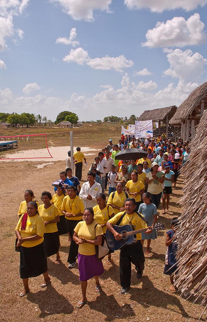 Centenary procession Aishalton, Guyana