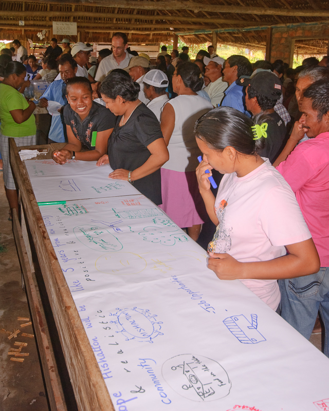Community Development Plan launch workshop, Aishalton