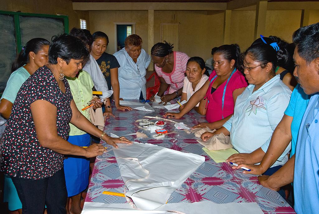 Lethem sewing training