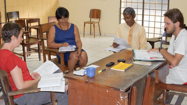 Wapishana language training